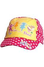Girls In The Night Garden Upsy Daisy 100% Cotton Sun Hat Peak Cap Pink Yellow