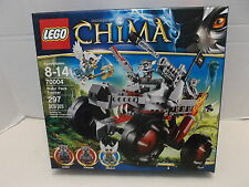 Lego #70004 Legends Of Chima Wakz' Pack Tracker NIB 2013!