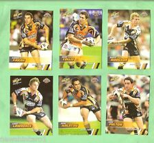 2008  WESTS TIGERS  SELECT NRL CHAMPIONS  RUGBY LEAGUE TEAM CARDS