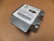 Vectra B 95-02 2.5 SRS airbag control unit ECU 09229039 BD Gm 09 229 039