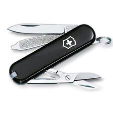 Victorinox couteau de poche Classic noir, avec gravure gratuite