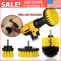 Drill Brushes Set Power Scrubber Drill Attachment For Cleaning Carpet Tile Grout