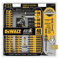 *NEW / FREE SHIPPING* DEWALT IMPACT READY FLEX TORQ DRIVER 40 PIECE MAGNETIC SET
