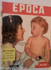 EPOCA 29 novembre 1952 Valentina Cortese Elena di Savoia Gennaro Pagano Melito