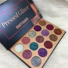15 Colors Eyeshadow Palette Long-lasting Eye Shadow Shimmer Makeup BEAUTY GLAZED