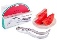 Kitchen + Home Watermelon Slicer Corer and Server - High Quality 18/10 Stainless