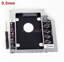 SATA 2nd Hard Drive HDD Caddy For Dell Precision M4600 M6400 M6500 M6600 DU30N
