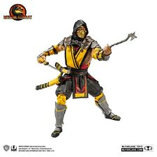 Mortal Kombat Series Scorpion Figure Collector's Edition, great gift for teen!