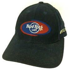Hard Rock Cafe Cap Myrtle Beach Sc Hat Spell Out Logo Trucker Baseball Strapback