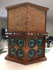 VINTAGE Bose 901 Series II Direct Reflecting Speaker Systems