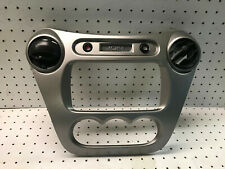 2004 Saturn Ion OEM Interior Radio Bezel Trim with Vents in Silver