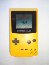 NEW GLASS LENS Nintendo Game Boy Color Limited YELLOW Dandelion Handheld System