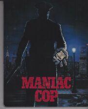 MANIAC COP (ZAVVI STEELBOOK) [ARROW BLURAY]