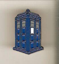 ## DOCTOR WHO Enamel Metall- Pin TARDIS Anstecker Cosplay