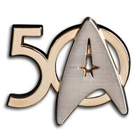 50 Jahre Star Trek Pin Roddenberry Exclusiv