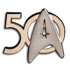 50 Jahre Star Trek Pin Roddenberry Exclusiv