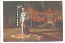 Jersey-Longest reigning monarch-Queen Eliz II mnh sheet sept 2015-Royalty