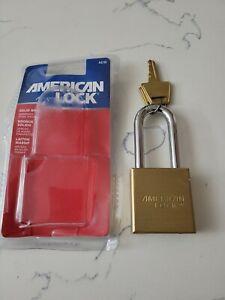"American Lock A21D Solid Brass Lock 1-3/4"" Lock Body, 2"" Shackle."