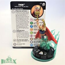 Heroclix Captain America and The Avengers set Thor #070 Chase figure w/card!