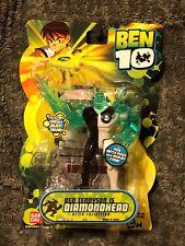 "Ben 10 Classic Diamondhead Battle Version 4"" Alien Collection 2 Figure Bandai"