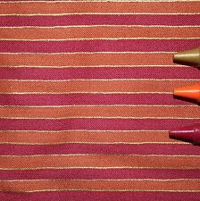 MAGNOLIA Blank Textiles Metallic Gold Orange Magenta Striped Quilt Fabric BTYNEW