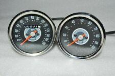 Pour BSA Norton Triumph Smiths Réplique 150 mph Compteur RPM Tachymètre Set ECS