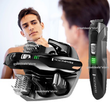 Remington Cordless Rechargeable Hair Beard Facial Body Trimmer Shaver Groomer