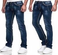 Jeans Jeanshose Hose Herrenjeans Straight Cut Hose Basic Regular Fit Herren