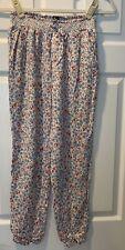 POLO Ralph Lauren Girl's Lightweight Pants Blue Floral 16