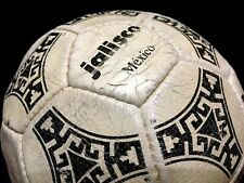 Adidas Soccer Match Used Ball Football Fifa World Cup 1986 Tango Azteca Jalisco