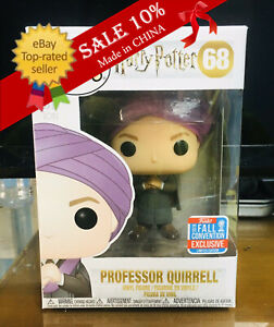 Funko Pop!Harry Potter 68# Professor Quirrell Exclusive Action Figure Model Toys