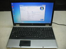 HP ProBook 6555b Laptop 2.1GHz AMD Athlon II P320, 4GB RAM, 160GB HDD, Win 7 PRO