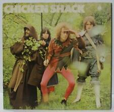 CHICKEN SHACK - 100 TON CHICKEN - ROCK VINYL LP  - RARE UK 1ST PRESSING