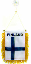 "Finland Mini Flag 4""x6"" Window Banner w/ suction cup"
