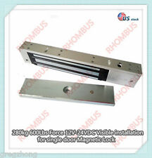 280kg 600Lbs Force 12V Visible installation for single door Magnetic Lock