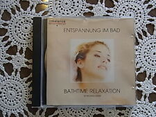 1 CD ENTSPANNUNG IM BAD BATHTIME RELAXATION BY RICHARD SHARP INBALANCE