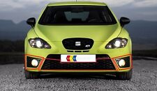 NEW GENUINE SEAT LEON CUPRA FR 06-13 FRONT LEFT N/S RIGHT O/S CENTER GRILL SET