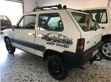 Coppia adesivi FIAT PANDA 4x4 Off Road cinghiale