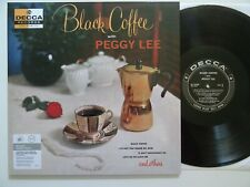 LP: Black Coffee with Peggy Lee (Audiophile Reissue: Decca 8358; mint-)