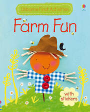 Farm Fun (Usborne First Activities), Watt, Fiona, New Book