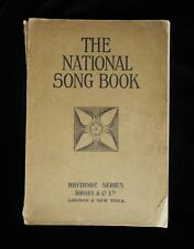 THE NATIONAL SONG BOOK  1906
