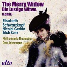 CD LEHAR THE MERRY WIDOW LUSTIGE WITWE SCHWARZKOPF GEDDA KUNZ LEGENDARY rec 1953