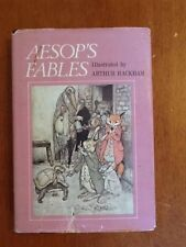 1975 ARTHUR RACKHAM Colorplate Edition AESOP'S FABLES w/DJ