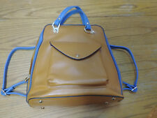 JUST STAR High Quality Faux Leather Purse Backpack School Shoulder Book Hand Bag