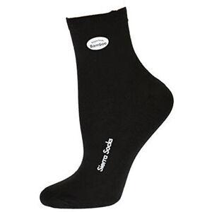 Sierra Socks Women Bamboo Low Cut Shortie 1 Pair or 3 Pairs Low Cut Ankle Socks