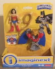 L@@K Fisher Price Imaginext DC Super Friends Wonder Woman & Flight Suit NIP