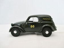 Simca 5 Fourgonnette 1938 Postes 86 - Universal Hobbies 1/43