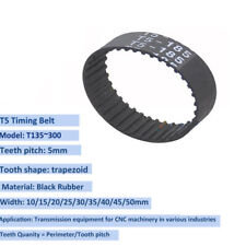 Polyurethane 15 mm Wide Jason Industrial 15T5//575 T-5 Metric Pitch Timing Belts 115 Teeth 575 mm Pitch Length