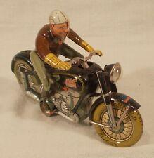 1949 ARNOLD MAC 700 MOTORCYCLE U.S. ZONE GERMANY TIN WINDUP V.G. WORKS & KEY