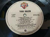 """Van Halen Van Halen 1978 - LP 12"""" solo el Vinilo G+ Sin la Carpeta - MG"""